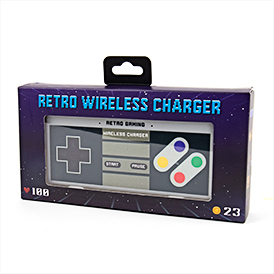 Retro Gamer Wireless Charger