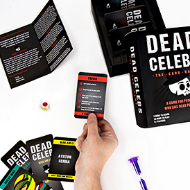 Dead Celeb card game