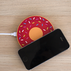 Doughnut wireless charger
