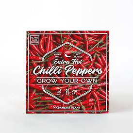 Grow Your Own Hot Cilli Pepper