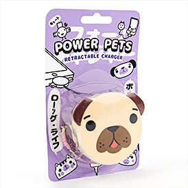 Power Pets - Retractable Pug
