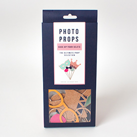 Selfie Prop Kit packaging