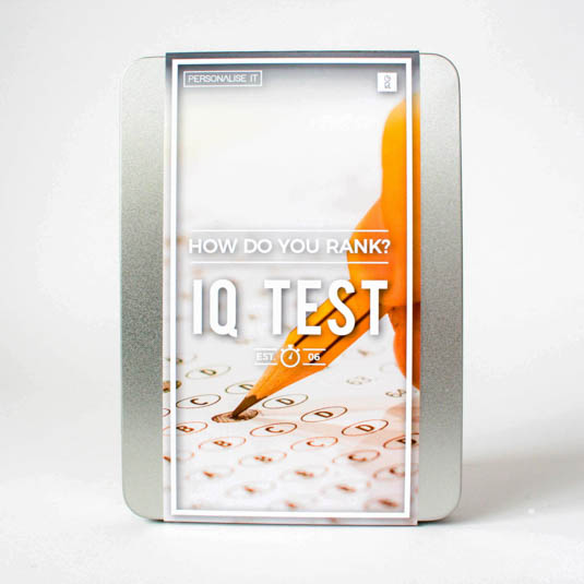 IQ Test gift box