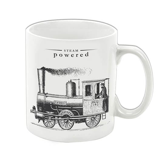 Steam Powered mug
