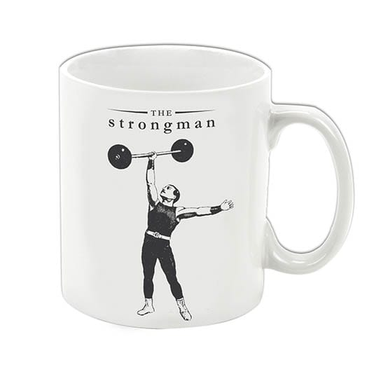 The Strongman mug