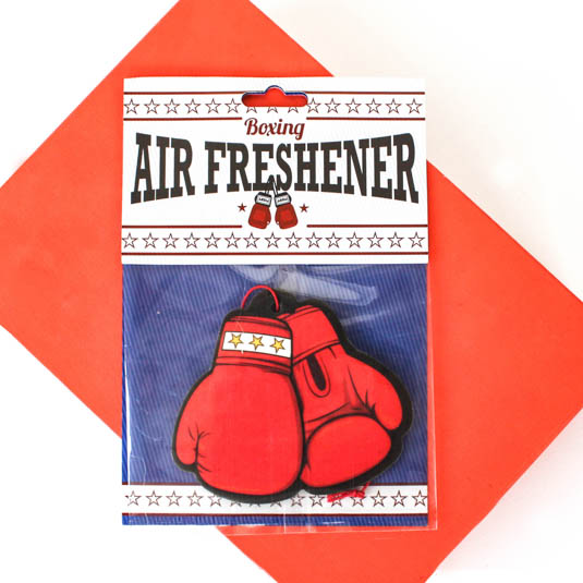 boxing air freshener