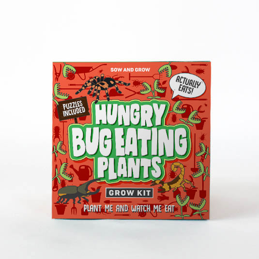 Sow and Grow Bug Eating Plants