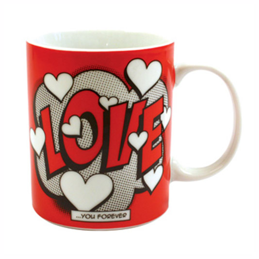 Comic Book Love Mug