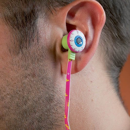 Rad Street Eyeball Ear Phones