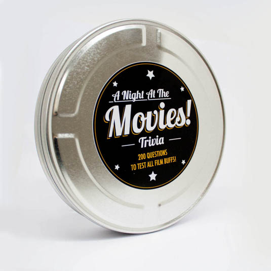 Movie Trivia Tin