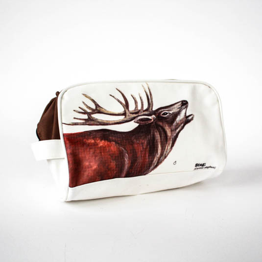 Wild Animals Stag Wash Bag