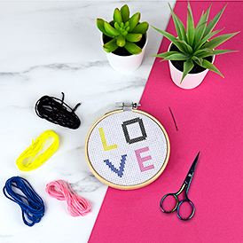 DIY Cross Stitch Kit