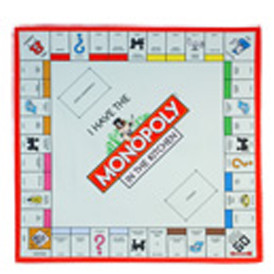 Monopoly Gameboard Tea Towel