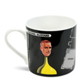 Colonel Mustard Bone China Mug