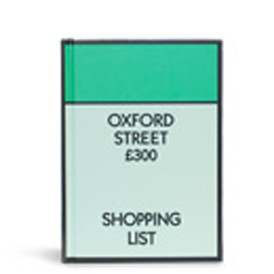 Monopoly Hardback Notebook - Oxford St