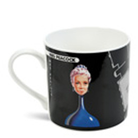 Mrs Peacock Bone China Mug