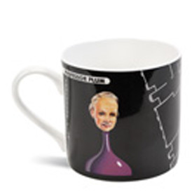 Professor Plum Bone China Mug