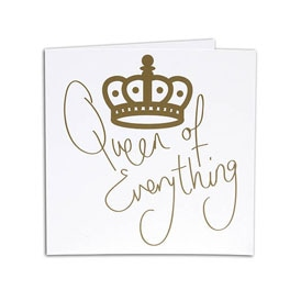 Queen Royalty Card