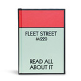 Monopoly Hardback Notebook - Fleet St