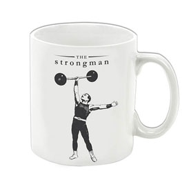 The Strongman Porcelain Mug