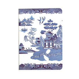 Blue Willow Notebook