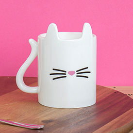 Boxed Porcelain Mug