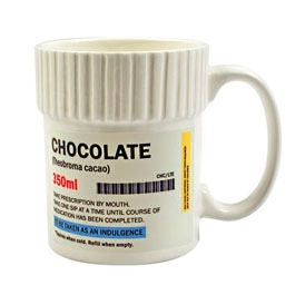 Pill Pot Mug - Chocolate