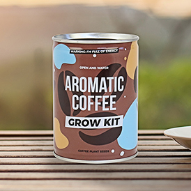 Coffee Grow Tin