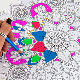 COLOUR IN PUZZLE
