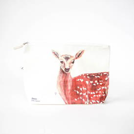 Deer Wash Bag