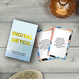 Digital Detox Cards