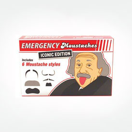 emergency moustaches - iconic edition