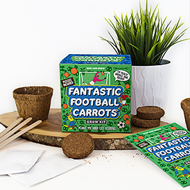 Football Carrots Grow Kit