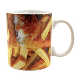 Take Away Fish and Chips Mug