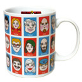 Guess Who  Porcelain Mug