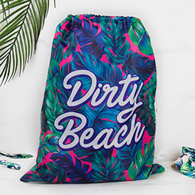 Beach Laundry Bag