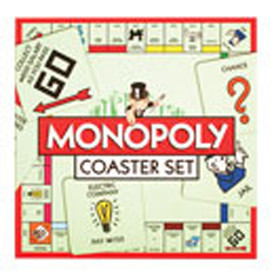 Monopoly Coasters - Set of 24
