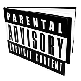 Parental Advisory  A5 Notebook