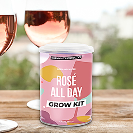 Rosé Wine Grow Tin