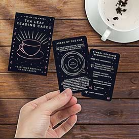 Tea Leaf Reading Cards