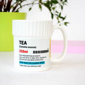 Pill Pot Mug - Tea