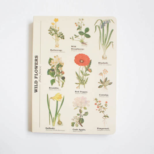 Wild Flower A5 Notebook